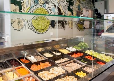 Б.у холодильный стол для салатов (саладетта)