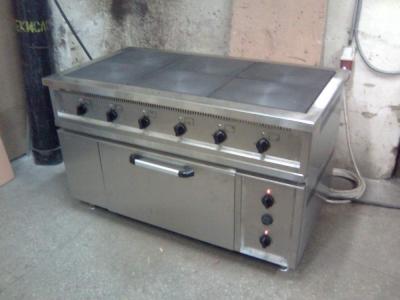 Б.у плита 6-ти конфорочная с духовкой