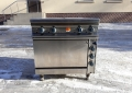 Б.у плита электрическая 4-х конфорочная с духовкой Kogast