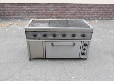 Б.у плита электрическая промышленная 6-ти конфорочная с духовкой