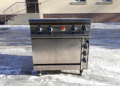 Б.у плита промышленная электрическая 4-х конфорочная с духовкой Kogast