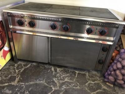 Б.у плита промышленная ПЭ-6Ш с духовкой Бюджет