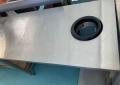 Б.у стол производственный с отверстием для отходов