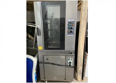 Бу печь конвекционная Zanolli PLANET 8 E/MC + расстоечный шкаф