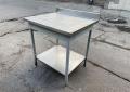 Бу стол производственный 80см