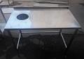 Бу стол с отверстием для мусора