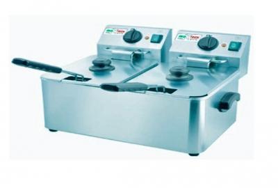 Электрическая фритюрница Inoxtech HDF-4+4