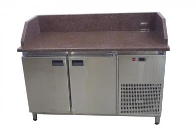 Холодильный стол с гранитной столешницей 2-х дверный 1400х700х850 Tehma