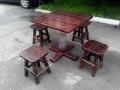 Столы и стулья бу для кафе (ольха)