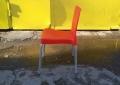 Пластиковый б.у стул для ресторана