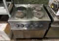 Плита электрическая промышленная с духовкой Zanussi