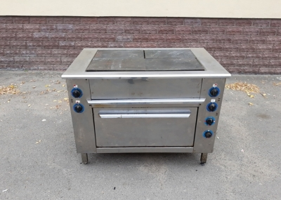 Б.у плита промышленная электрическая 4-х конфорочная с духовкой