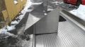 Полка из нержавеющей стали для кафе бу