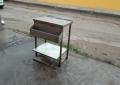 Производственный стол с карманом для бутылок б.у