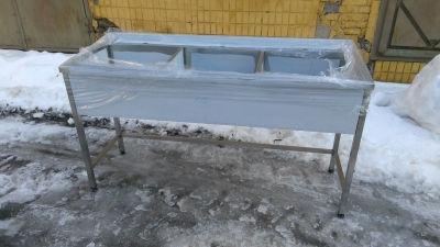 Промышленные моечные ванны