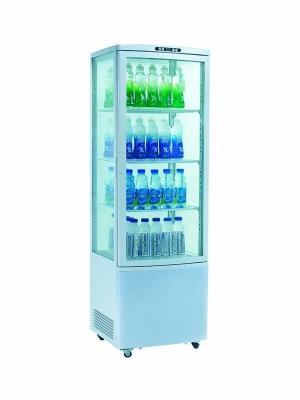 Шкаф витрина холодильная EWT INOX RT215L