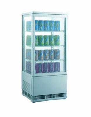 Шкаф витрина холодильная EWT INOX RT68L
