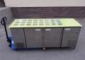Стол холодильный бу (саладетта) с витринным стеклом