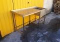 Производственный стол с мойкой бу