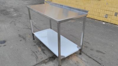 Стол для пищеблока из нержавеющей стали