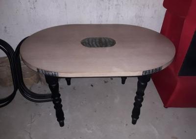 Столы б.у для кафе овальные