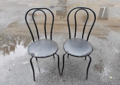 Стулья с мягким сиденьем б.у