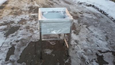 Ванна моечная 1 секционная