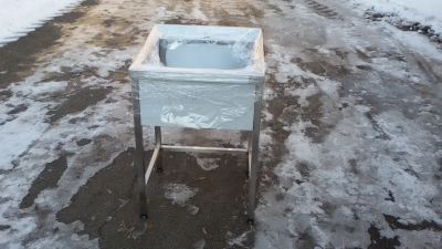 Ванна моечная 304