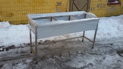 Ванна моечная 3 х секционная