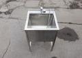 Ванна моечная 600х600 из нержавейки б.у