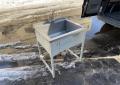Ванна моечная 700х600 из нержавейки б.у