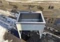 Ванна моечная 800х600 из нержавейки б.у