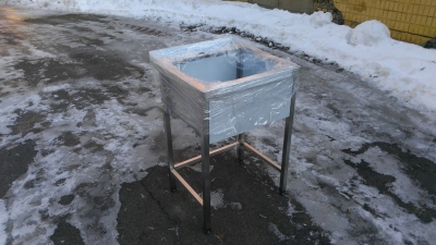 Ванна моечная штампованая