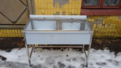 Ванны моечные двухсекционные цена