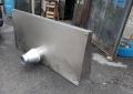 Вытяжной зонт бу из нержавеющей стали